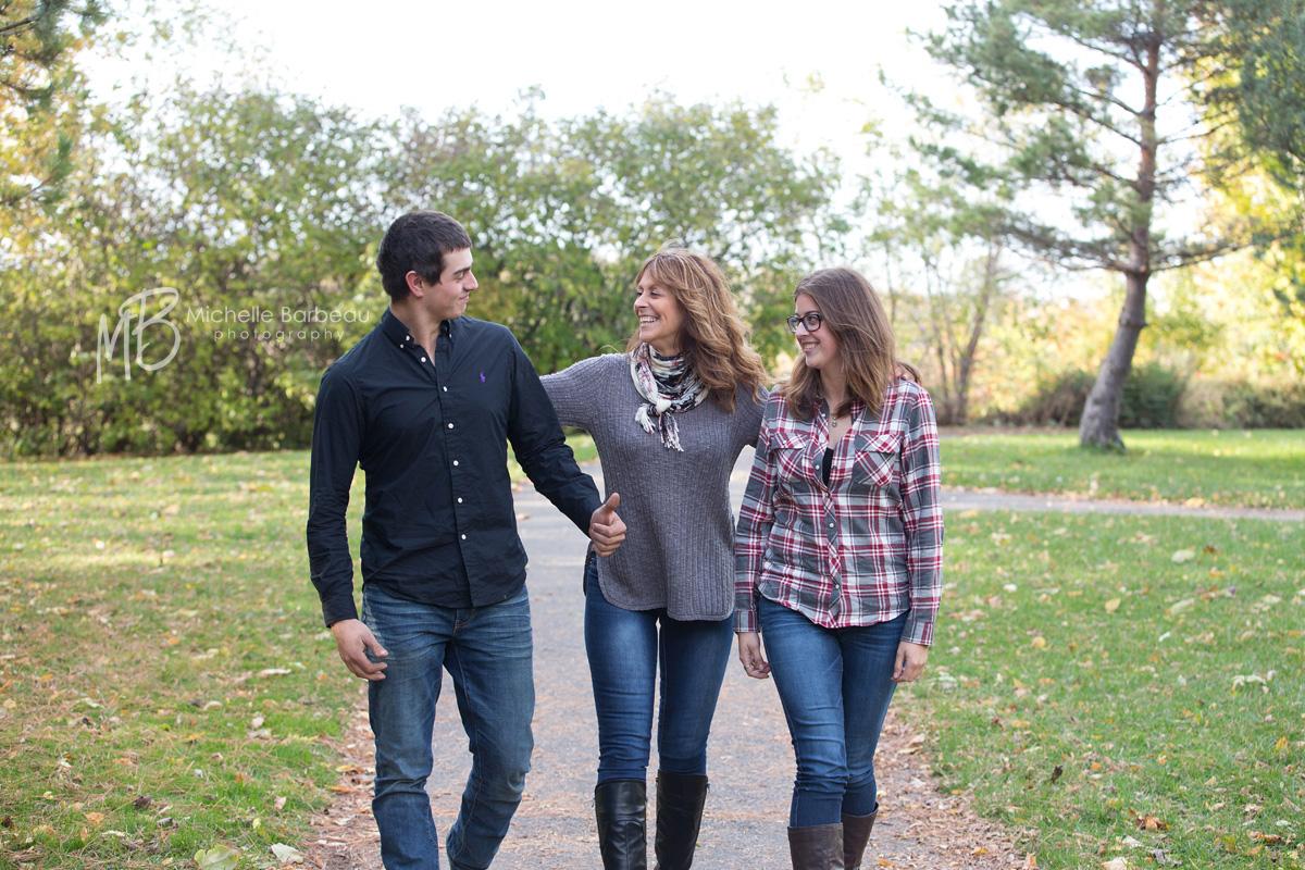 fun family of 3