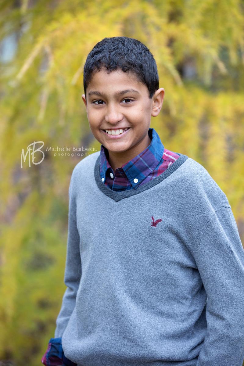 ottawa photographer portrait of boy