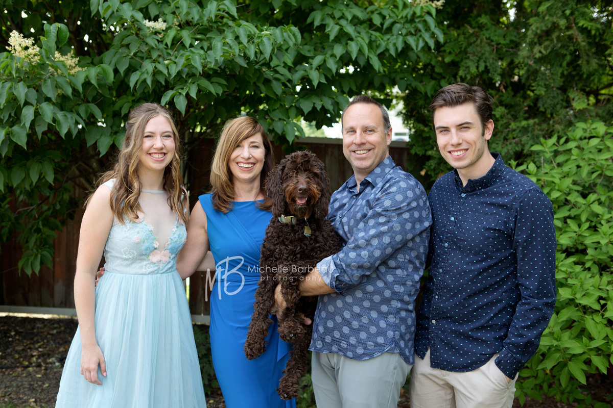 Nepean family with dog