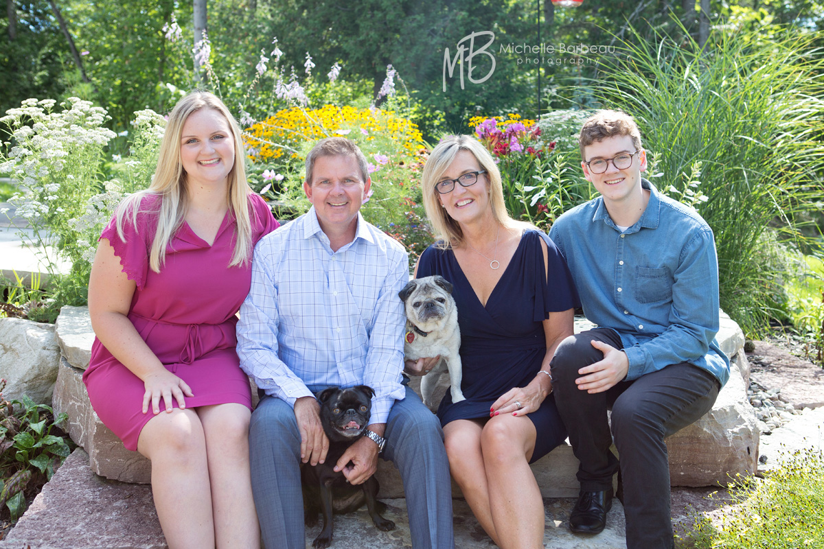 family photography with dogs