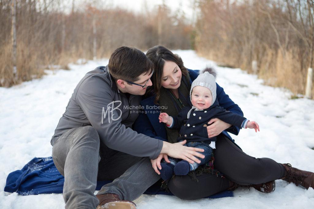 Stittsville winter family photos