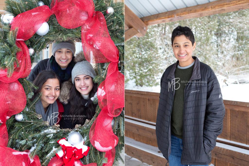 festive family photos