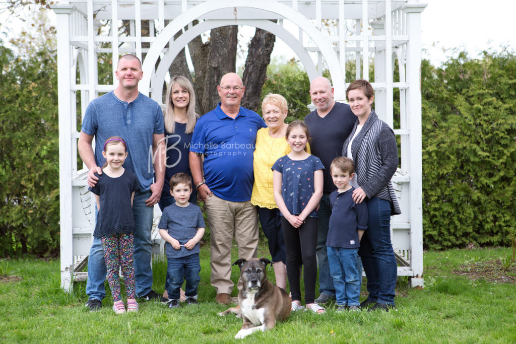 Fitzroy Harbour Multigenerational family