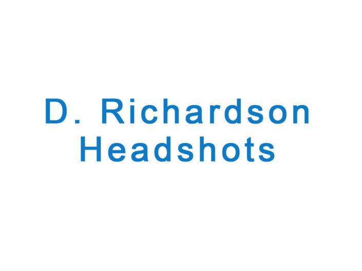 D. Richardson headshots